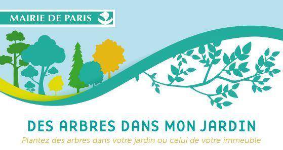Paris arbres gratuits