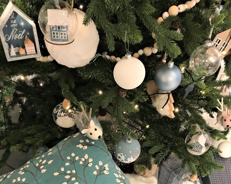 MAISONS DU MONDE Noel polaire Table