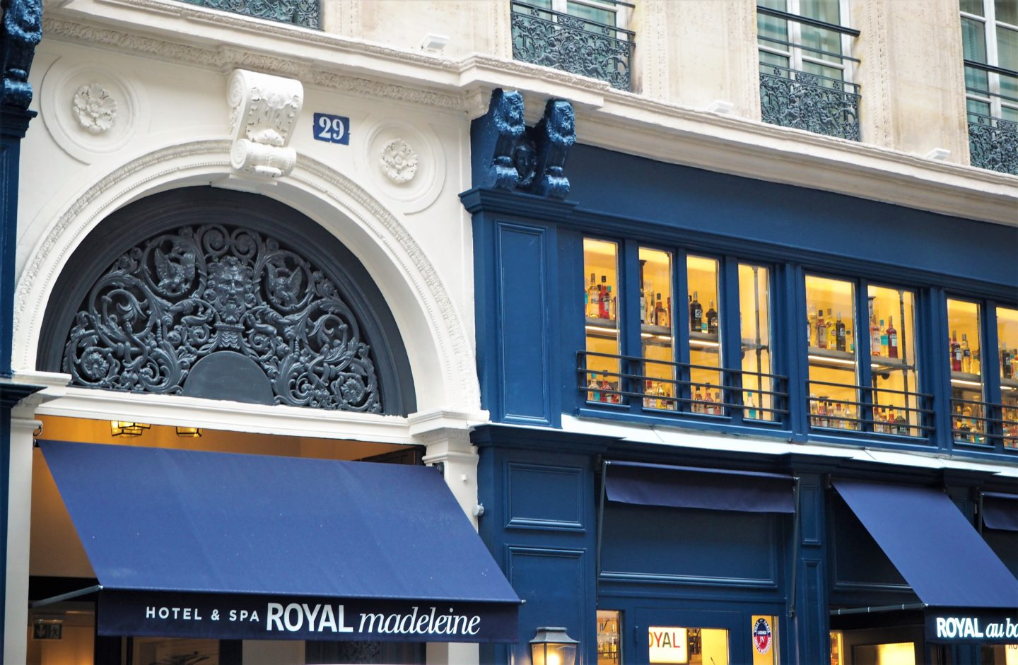 hotel royal madeleine paris devant