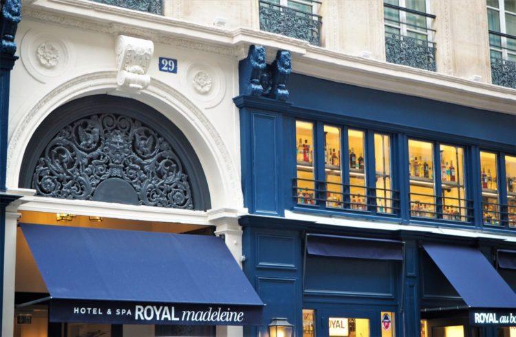 hotel royal madeleine paris devant