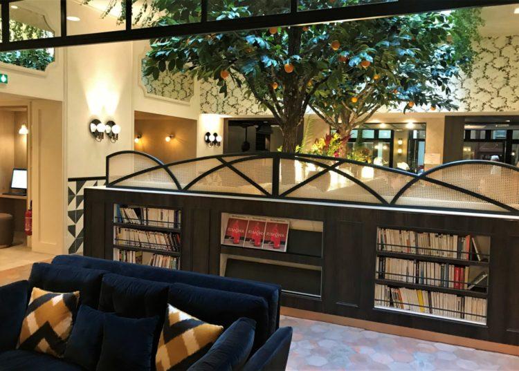 Hotel royal madeleine paris salon