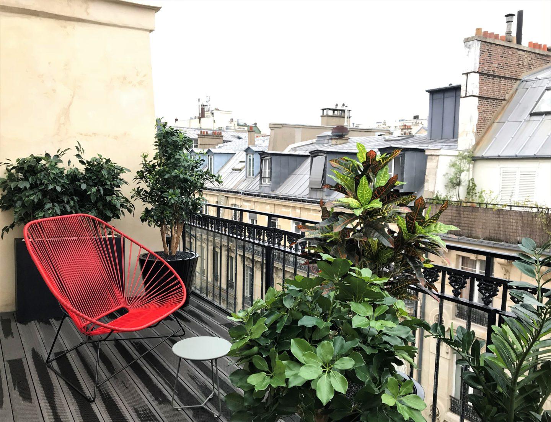Hotel royal madeleine terrasse
