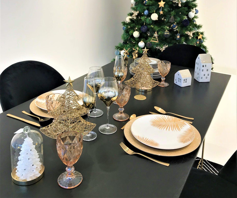 Maisons du monde collection noel polaire table