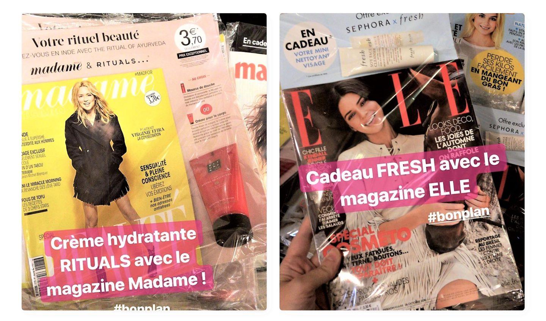cadeaux magazines
