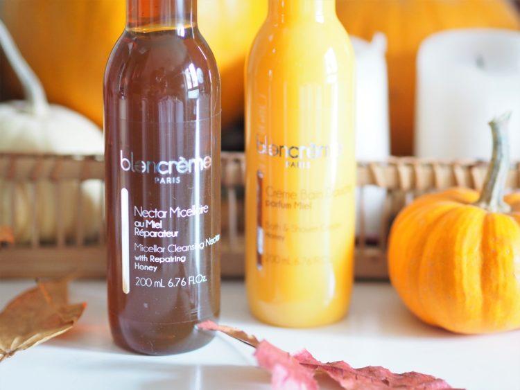 nectar micellaire gamme miel et amande blancreme