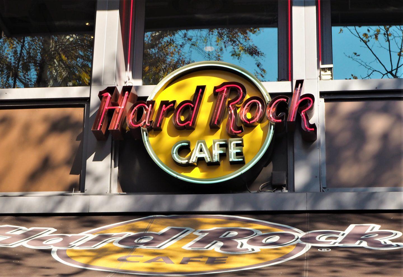 Hard Rock Café Paris enseigne