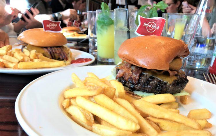 burger hard rock café paris