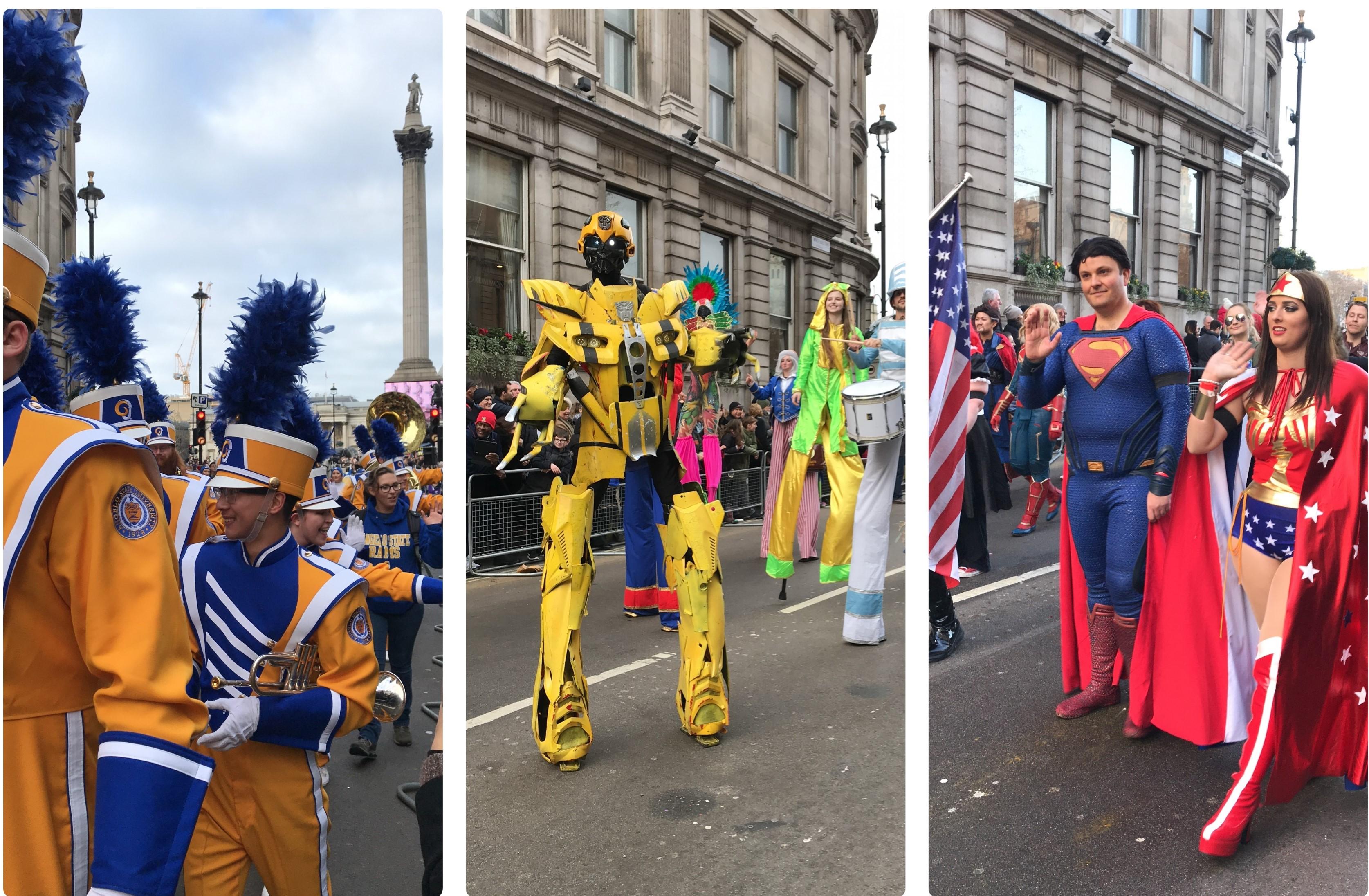 Défilé du jour de an Londres