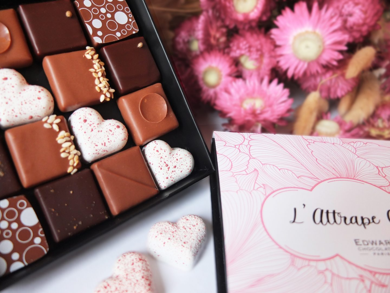 chocolats saint valentin edwart