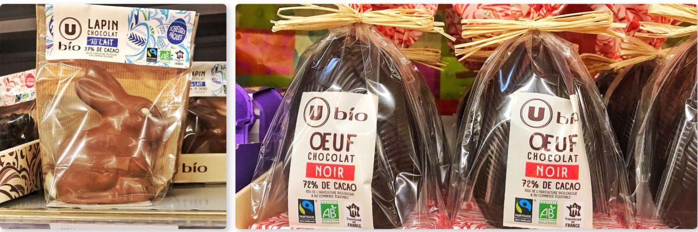 chocolat paques 2019 Super U