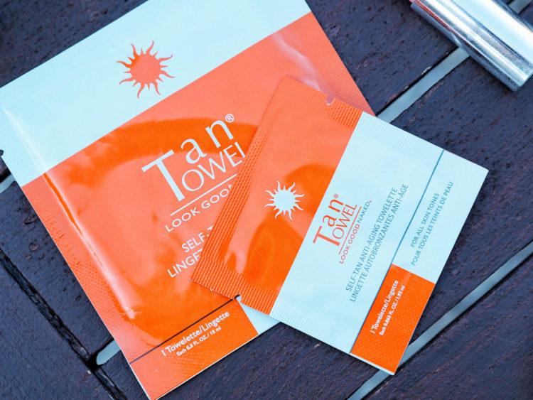 lingettes autobronzantes tan towel