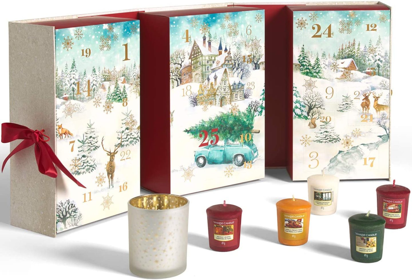 Calendrier avent bougie YANKEE CANDLE 2020