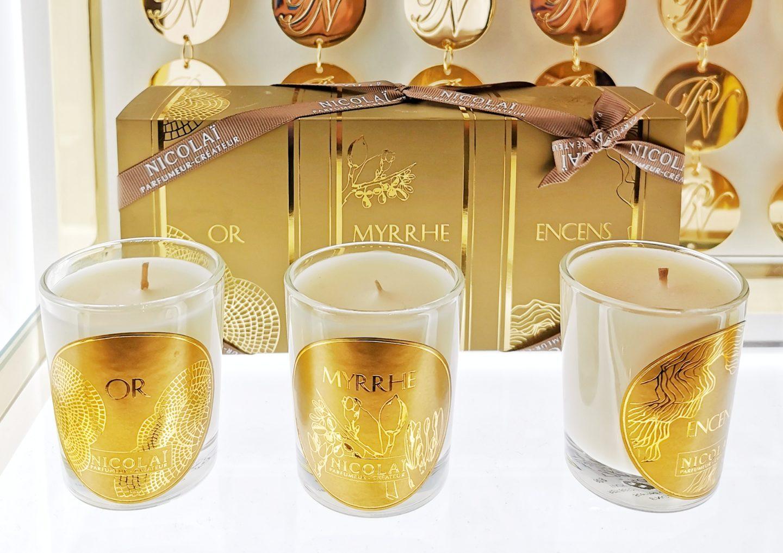 Bougies parfumées Nicolai