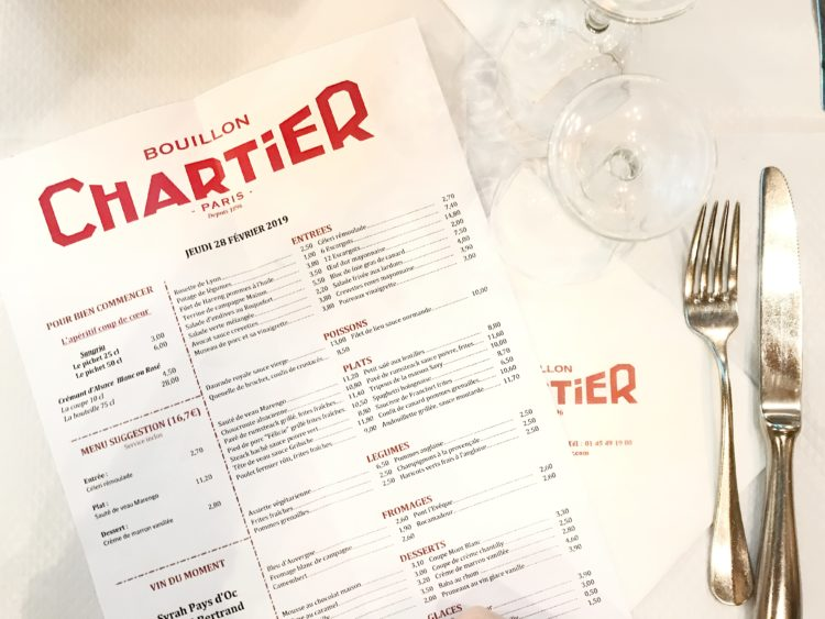 carte bouillon chartier