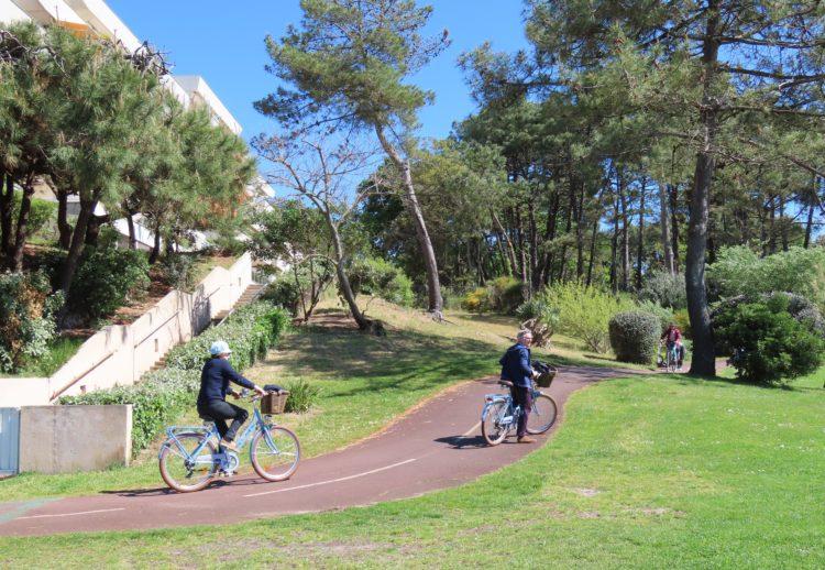 DUNE DU PILAT - Pistes cyclables