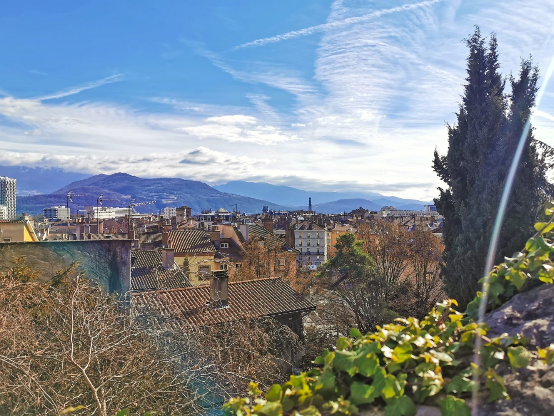 Grenoble montée au fort