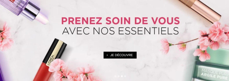 codes promo loreal paris mai 2020