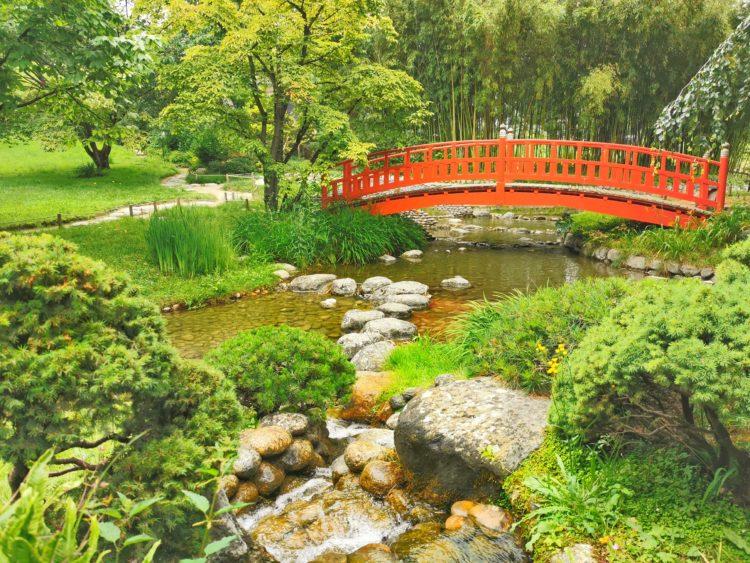 pont rouge jardins albert kahn