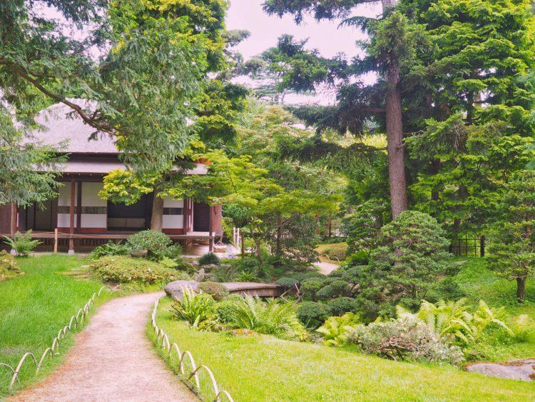 Jardins albert kahn Village japonais