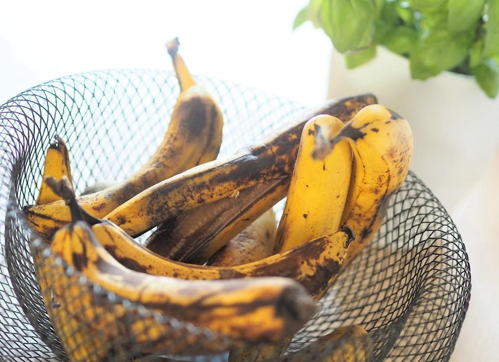 recettes bananes trop mures antigaspi