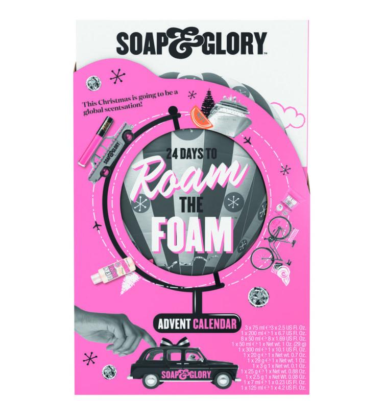 calendrier de l'avent soap & glory 2020