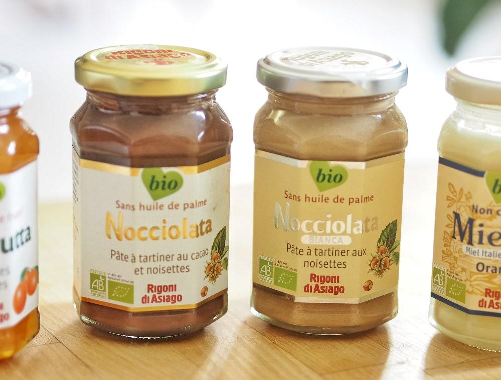 nocciolata pour remplacer le nutella