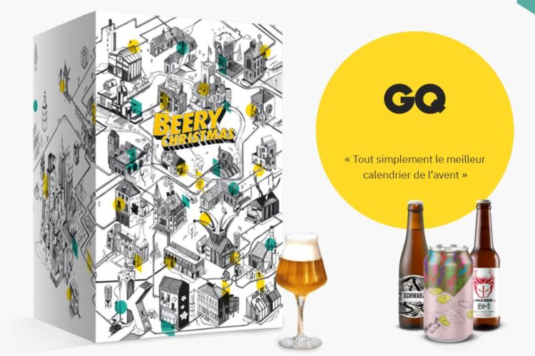 Calendrier de l'avent 2020 Saveur Biere