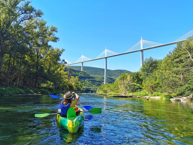 Canoe sur le Tarn Millau