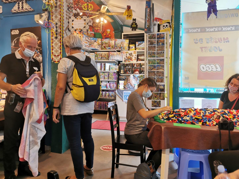 Musée de la maquette LEGO Valras Plage