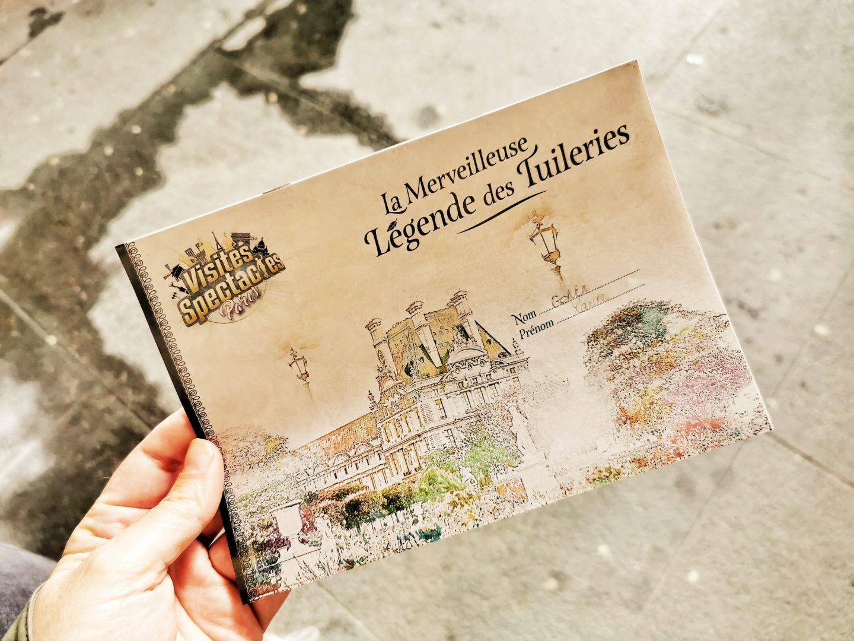 Visites spectacle legende des tuileries