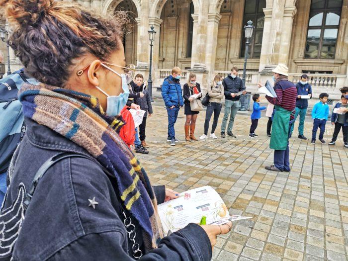 Visite spectacle La merveilleuse legende des tuileries