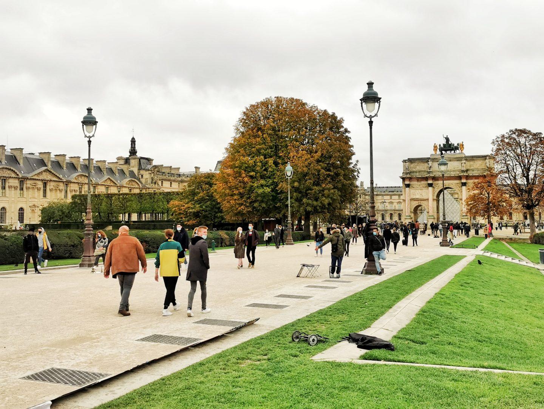 Visite spectacle jardin des tuileries