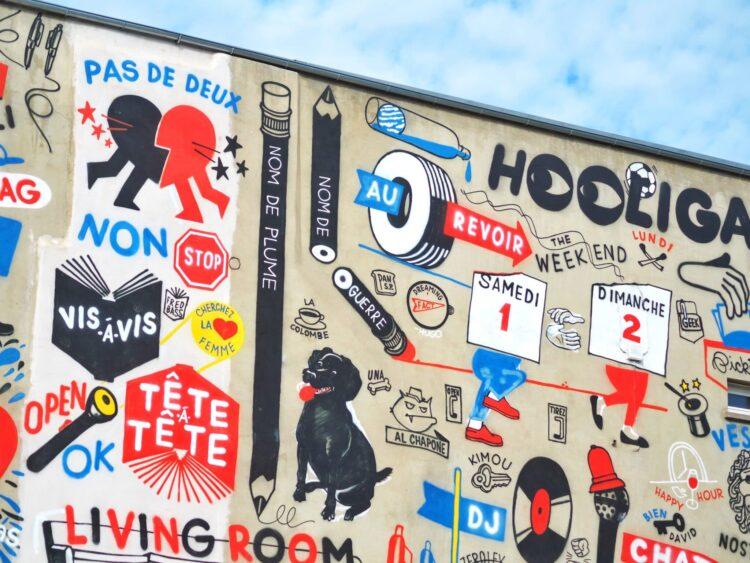 Billet doux street art besançon