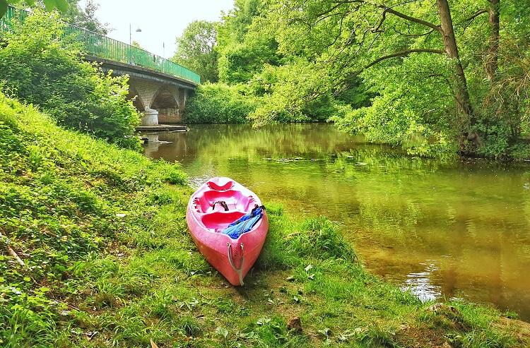 canoe sur l'eure